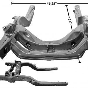 1000M 1967 Firebird Sub Frame Assembly