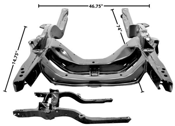 1000T 1969 Firebird Sub Frame Assembly