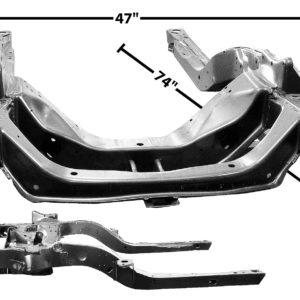 1000T 1969 Camaro Sub Frame Assembly