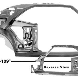 1021A 1967 Camaro Quarter Door Frame Assembly - RH
