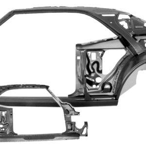 1021B 1967 Camaro Quarter Door Frame Assembly - LH