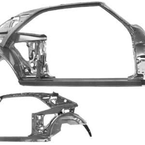 1022 1968 Quarter Door Frame Assembly - RH
