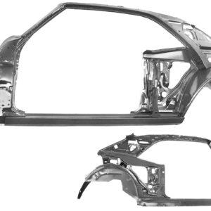 1023 1968 Quarter Door Frame Assembly - LH