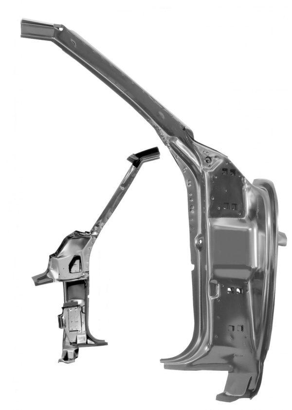 1023G 1968 Camaro Inner Door Frame - RH