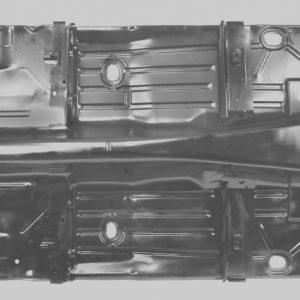 1046AWT 1967 – 1969 Camaro Complete Floor Pan – Weld Through Primer