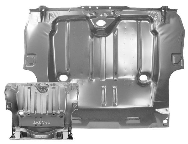 1046B 1967 Camaro Full Trunk Floor Pan - Not Staggered Shocks