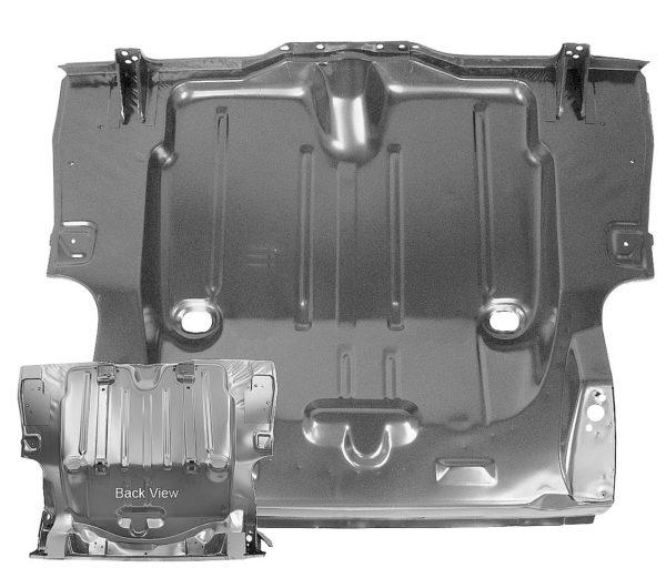 1046C - 1969 Camaro Convertible Full Trunk Floor Pan