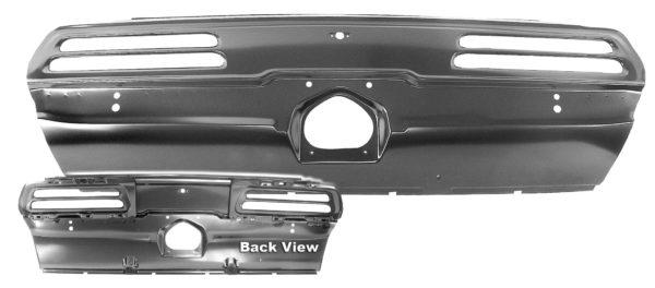 1067LA 1969 Firebird Tail Lamp Panel with Mounting Bracket