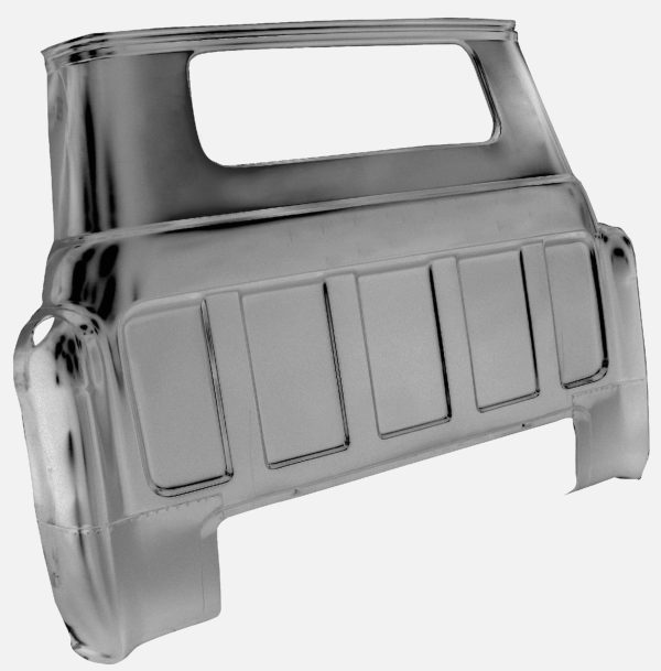 1107B 55 - 59 Cab Rear Outer Panel - small window