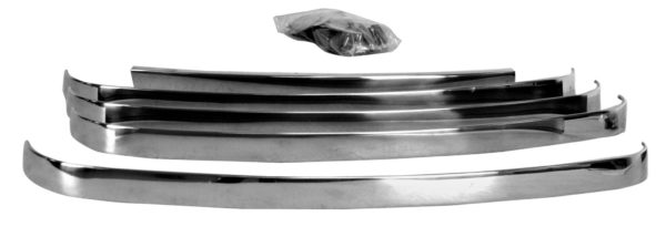3031 1948 – 1950 Ford Truck Grille Bar Set – Stainless