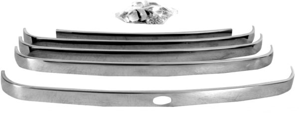 3031A 1948 – 1950 Ford Truck Grille Bar Set – Stainless