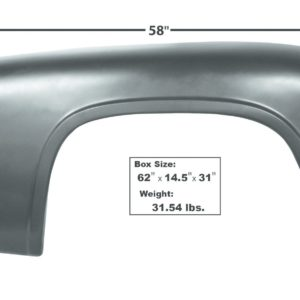 3065 - FORD TRUCK 53 - 56 Fender - LH