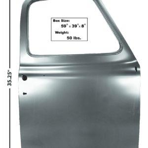 3100 1953 – 1955 Ford Truck Door Shell – RH Side