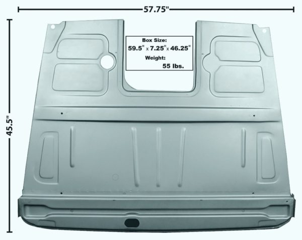 photo of 1948 – 1952 Ford Truck Floor Panel Assembly (3152)