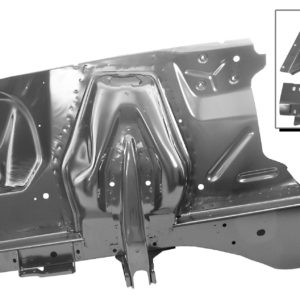 3630P 65-66 Complete Shock Tower & Apron Assembly - RH