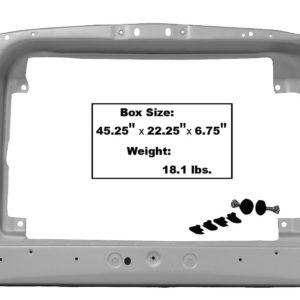 3640GWT 1969 Radiator Support - Weld Through Primer
