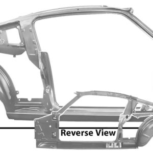 3644EWT 65-66 Fastback - Quarter Door Frame Asembly With Weld Through Primer - RH