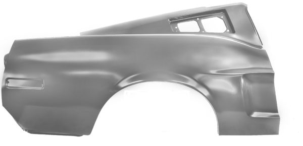 3645GAWT 1968 Quarter Panel With Weld Through Primer - Fastback - RH - With Early Marker