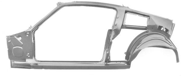 3645UWT 67-68 Fastback Quarter Door Frame Assembly With Weld Through Primer - LH