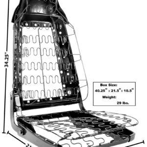 6026 70 Seat Frame Assembly - RH Side