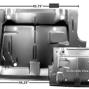 6082 1970 Trunk Floor Pan
