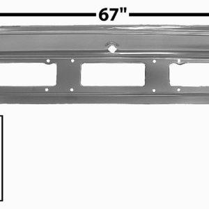 6083WT 1970 Tail Lamp Panel - Weld Through
