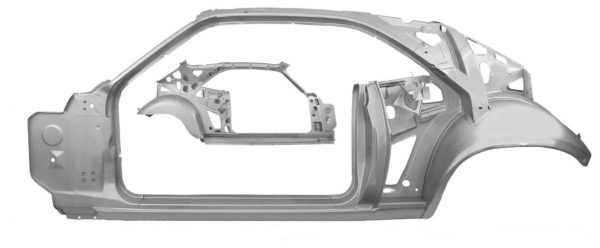 6099WT 1970 Quarter and Door Frame Assembly - W Through - LH